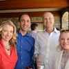 Vintner's Luncheon at Silver Oak Cellars. Wendy and Jason Bazilian, Steven Stull, Jeanne Lawrence.