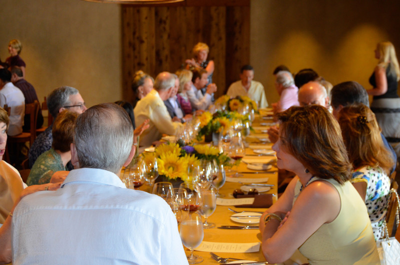 Vintner's Luncheon at Silver Oak Cellars.