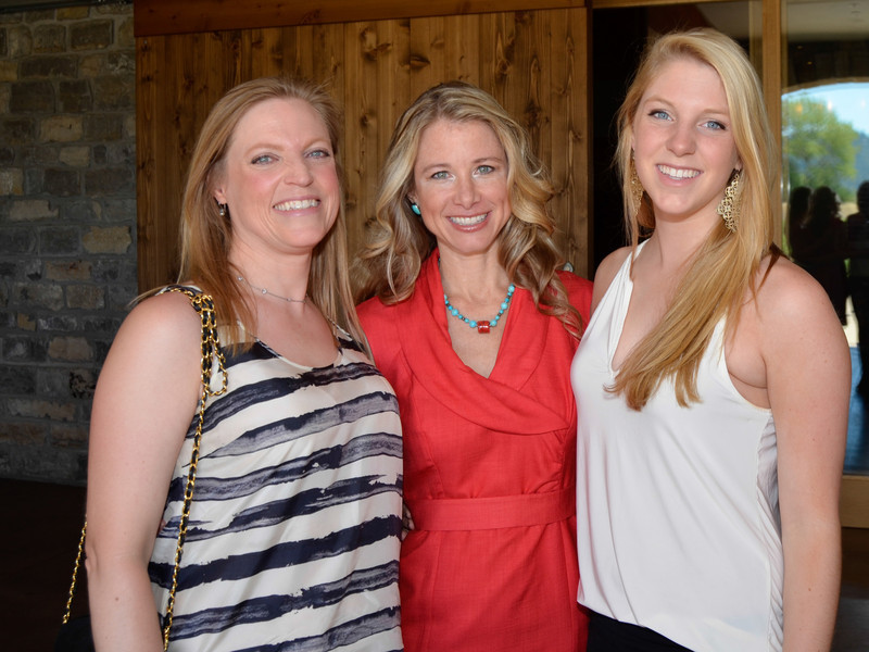 Vintner's Luncheon at Silver Oak Cellars. Linnea Pearson, Dr. Wendy Bazilian and Sophie Pearson.