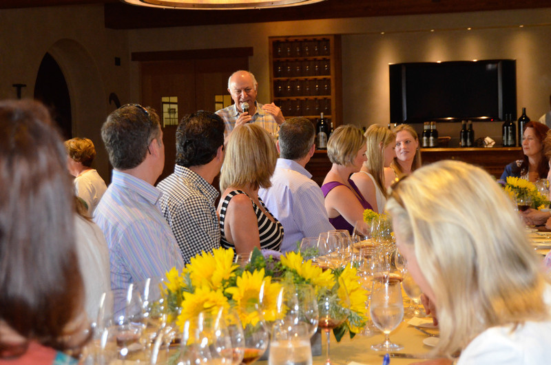 Vintner's Luncheon at Silver Oak Cellars. Darioush Khaledi.