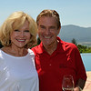 Vintner's Luncheon at HALL Rutherford. Hosts Kathryn Walt Hall and Craig Hall.
