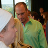 The 24 Hour Plays participants meet for the first time. Christopher Meloni.