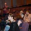 The 24 Hour Plays participants meet for the first time.
