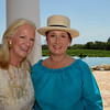 Vintner's Luncheon at HALL Rutherford. Mary Agee and Catherine Schmidt.
