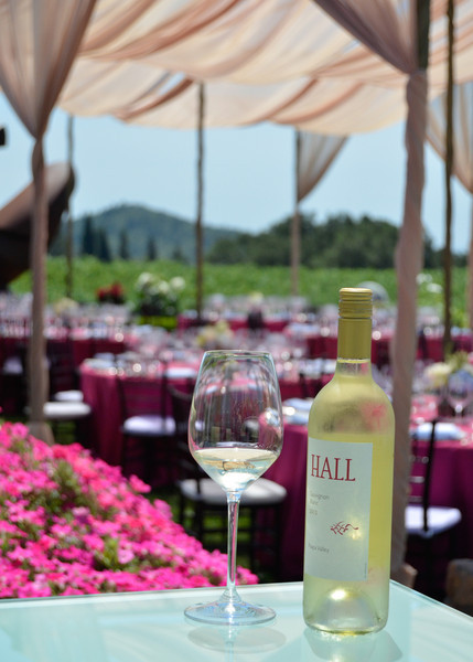 Vintner's Luncheon at HALL Rutherford.
