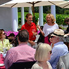 Vintner's Luncheon at HALL Rutherford. Hosts Craig Hall and Kathryn Walt Hall.