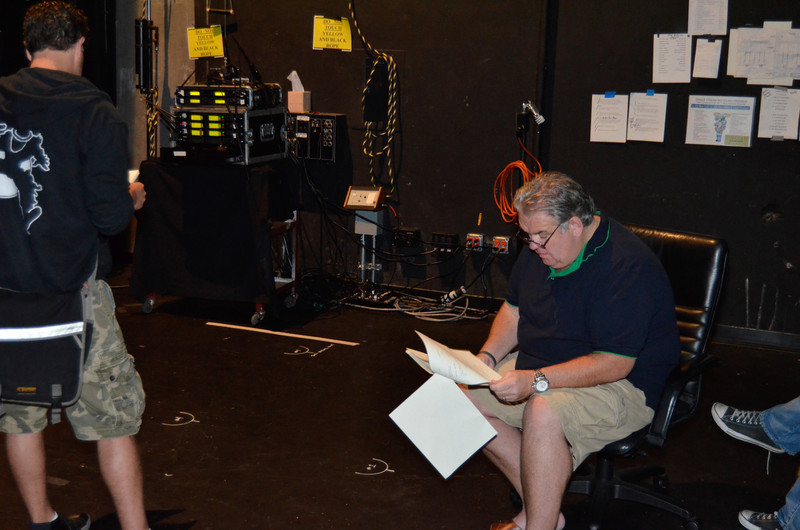 Actors give scripts the first read-through.