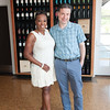 Vintner's Luncheon at The Hess Collection. Star Jones and Charles Letourneau.