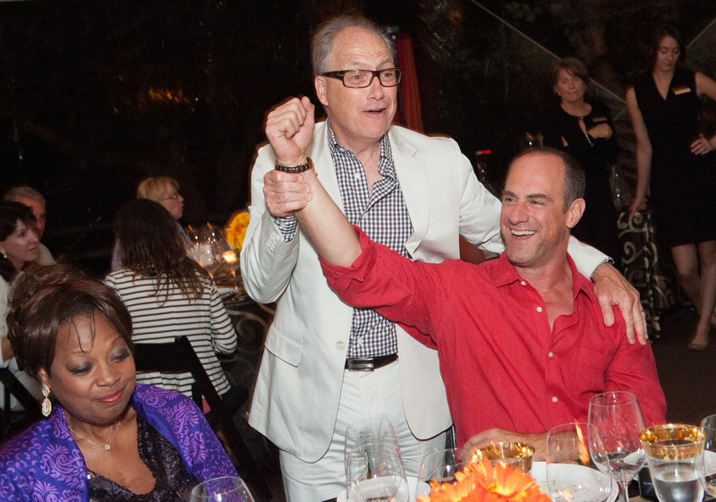 Dinner and Concert at Far Niente. Jerry Inzerillo with Star Jones and Christopher Meloni.