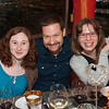 Writers and directors Cat Miller, Mark Armstrong, Laura Jacqmin.