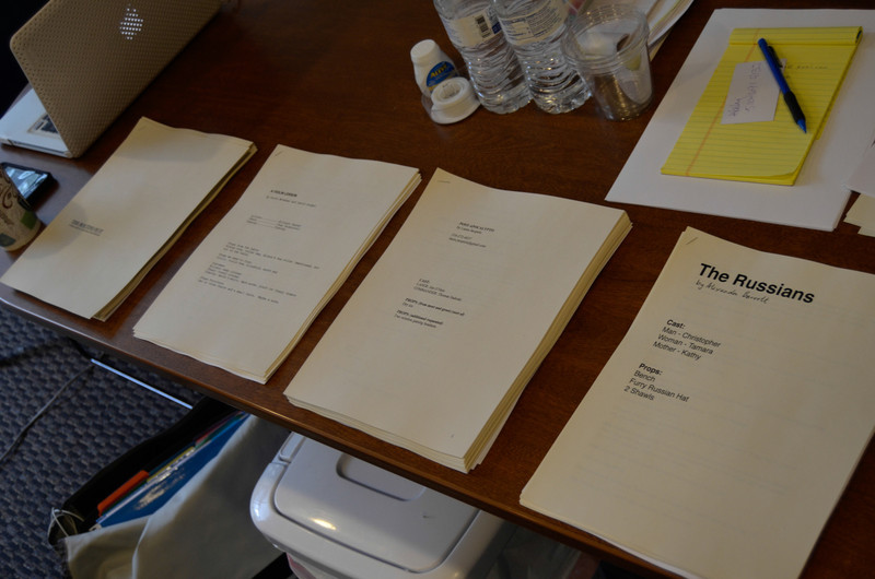 The 24 Hour Plays scripts are done!