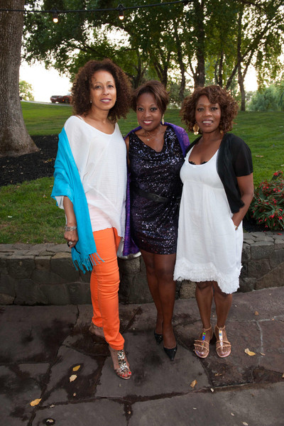 Dinner and Concert at Far Niente. Tamara Tunie, Star Jones and Alfre Woodard.