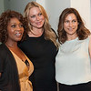 Backstage before 24 Hour Plays. Alfre Woodard, Gianna Palminteri and Amy Povich.