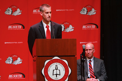 Gardner-Webb names Tim Craft as new head Men's Basketball Coach; July 2013.