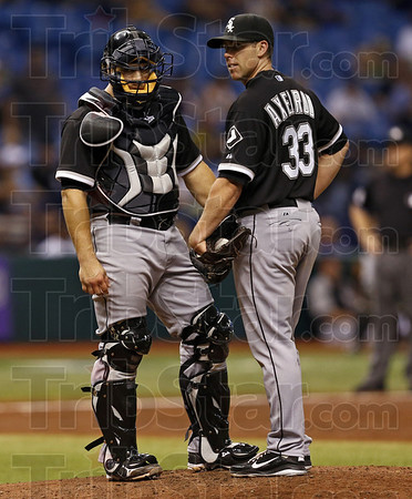 White Sox Rays Baseball