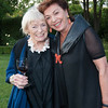 Closing Night Dinner at Sinegal Family Estate. Margrit Mondavi and Maria Manetti Shrem.