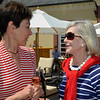 Sparkling Brunch at Domaine Carneros. Eileen Crane and Pepper Jackson.