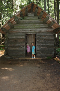 Old cabin along the trail at Longmire