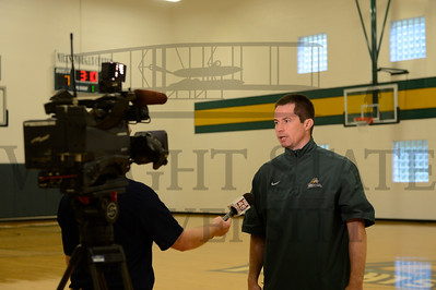 11816 Basketball player interviews with Media 7-15-13