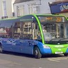 Thames Travel Optare Solo SR YJ13HOA 720 in Bicester on the 25A to Oxford.