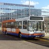 Centrebus East Lancs Spryte bodied Dart P132PPV at Milton Keynes Central with the X31 to Luton, 14/06/2013.