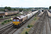 26 June 2013 :: Passing Didcot is 66121 with 6B35 from Hayes to Moreton on Lugg