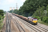 26 June 2013 :: Approaching South Moreton is 66198 on 6O26 from Hinksey to Eastleigh