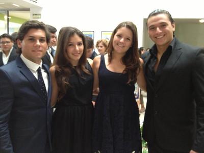 Los graduados.