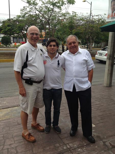 Peter, Bruno & Raúl