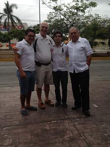 Mauricio, Peter, Bruno & Raúl