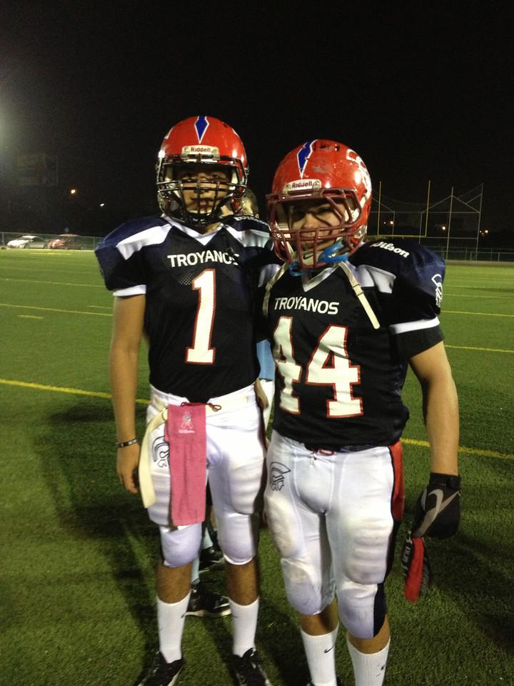 Quarterback & Fullback