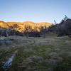 Looking back at Junipero Serra Peak
