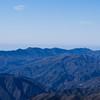 Far ridges, toward Cone Peak