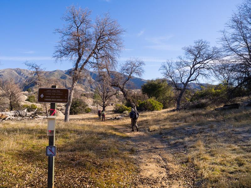 Trailhead, near Indian Camp
