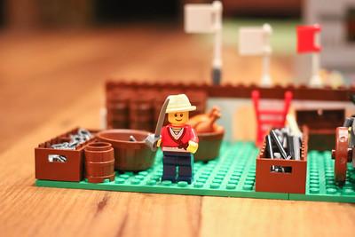 Kate's LEGO Alamo