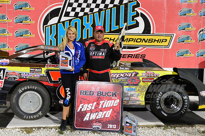 Don O'Neal was the Red Buck Fast Qualifier on Thursday night