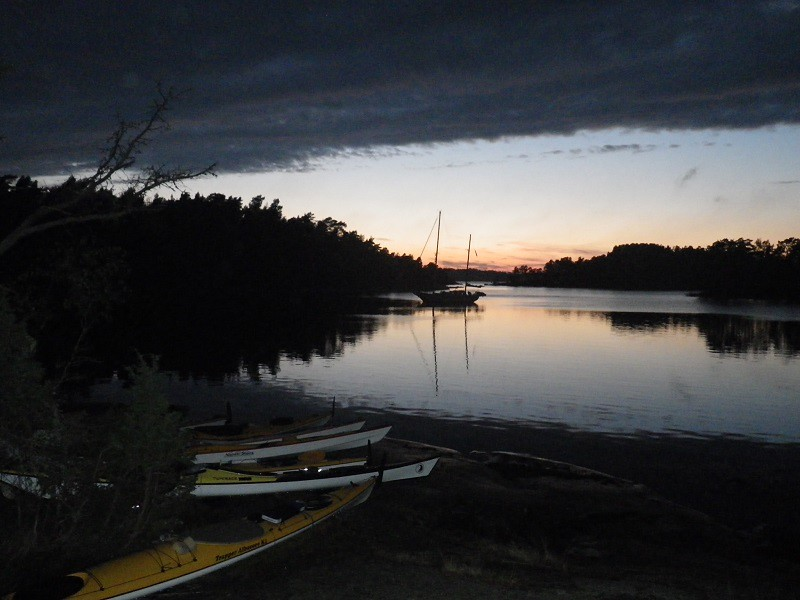 Natt vid Träskö-Storö