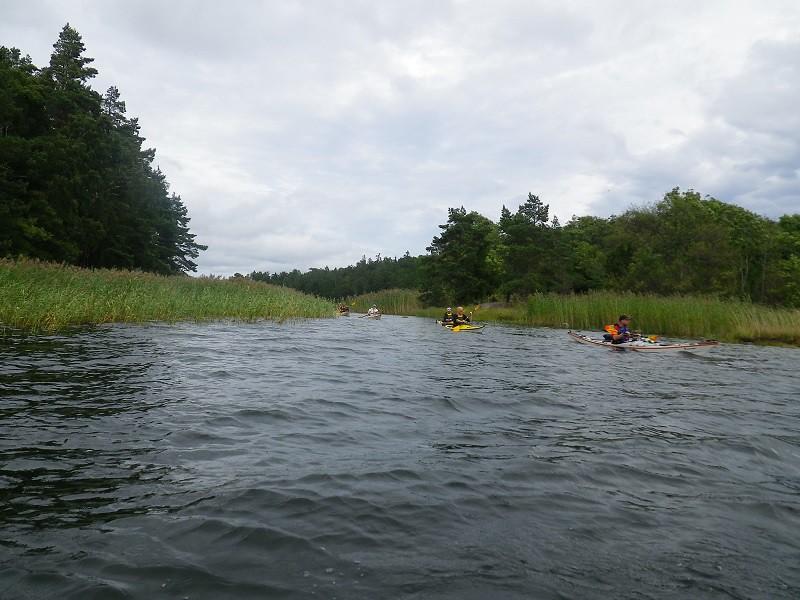 Kanalpassagen i mellan Edö&Edö-Ö