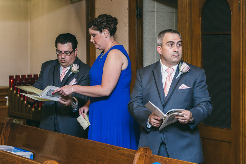 Rochester, NY Wedding, Photographers, St. Josephs Church