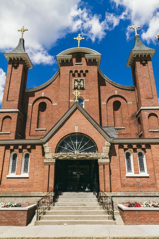 Rochester, NY Wedding, Photographers, St. Josephs Church