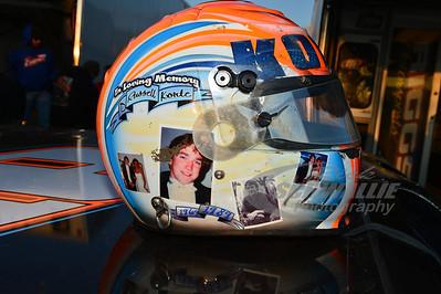Randy Korte's helmet