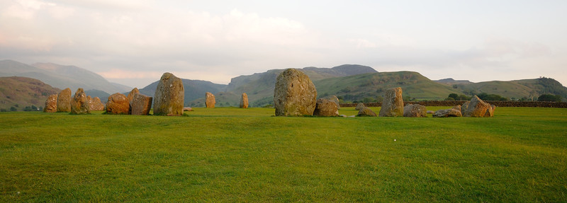 Lake District, Day 1 pt.2: Castlerigg Stone Circle