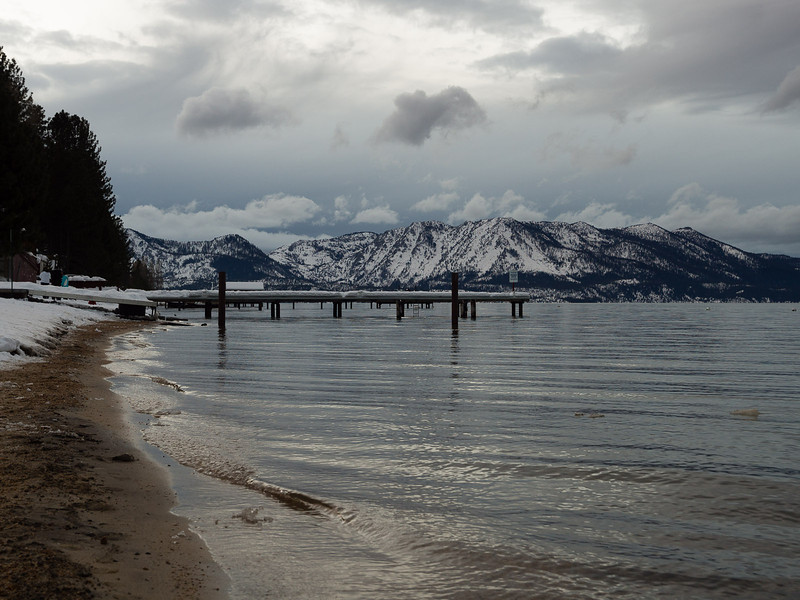Stormclouds over Mt. Tallac