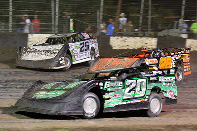 (20) Jimmy Owens, (28) Eddie Carrier, Jr. and (25) Jason Feger
