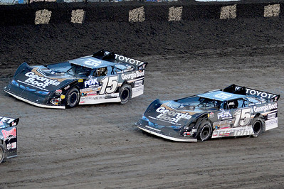 (15b) Clint Bowyer and (15) Steve Francis
