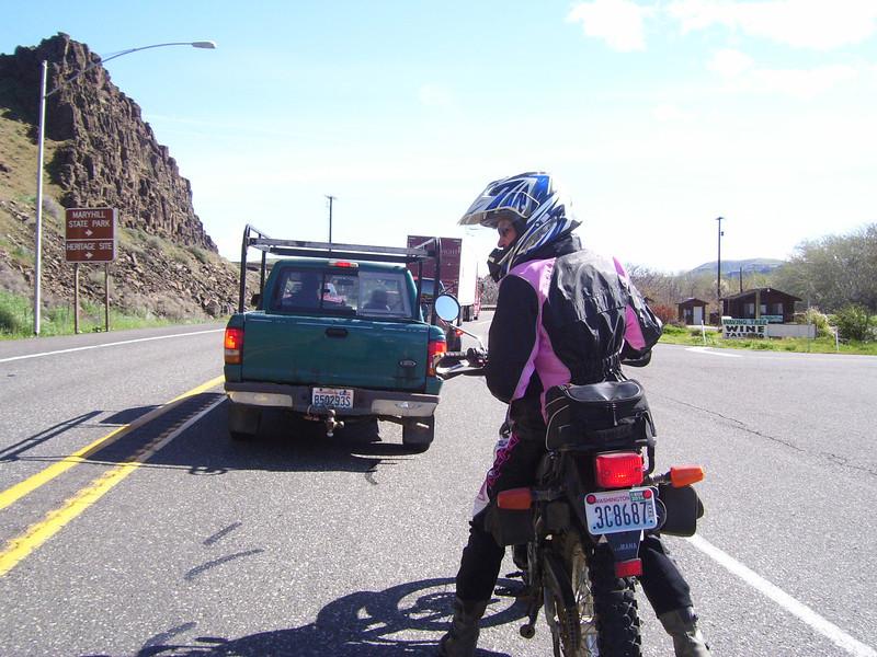 Road work on HWY 97