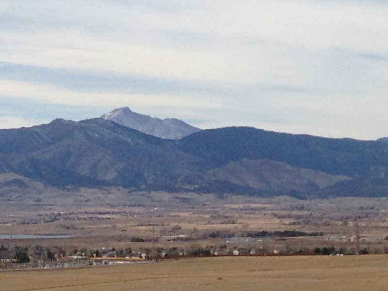 Mount Meeker and Long's Peak