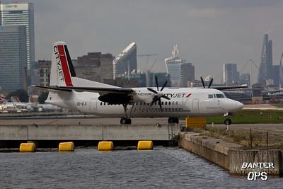Fokker 50 OO-VLS VLM Airlines