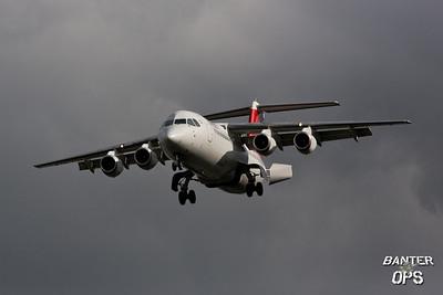 BAe 146 RJ-100 HB-IYW Swiss European Air Lines