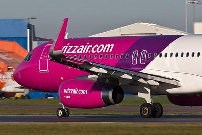 Airbus A.320 HA-LWU Wizz Air Winglets & Spoilers